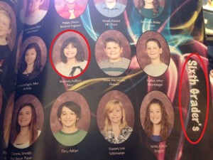 School yearbook