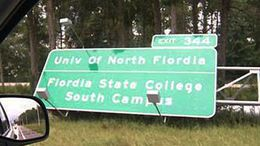 Flordia sign