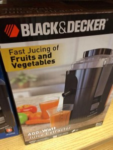Black and Decker Jucer