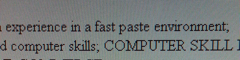 Fast paste
