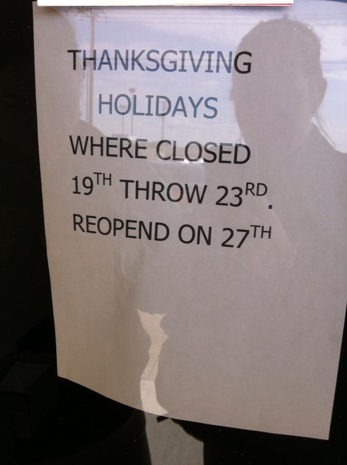 ThanksgivingMonday