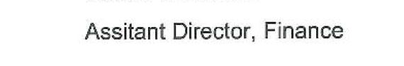 Assitant Director