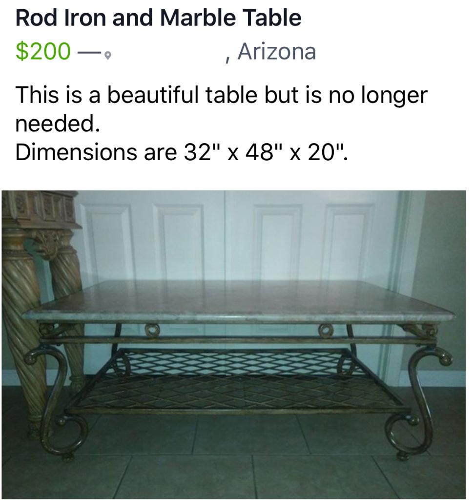 Rod iron