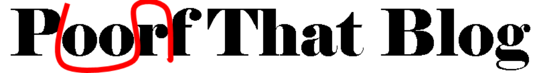 Proof That Blog
