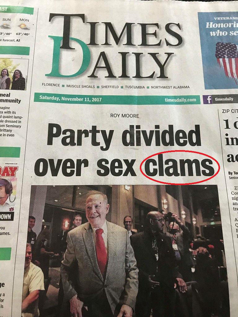 Sex clams