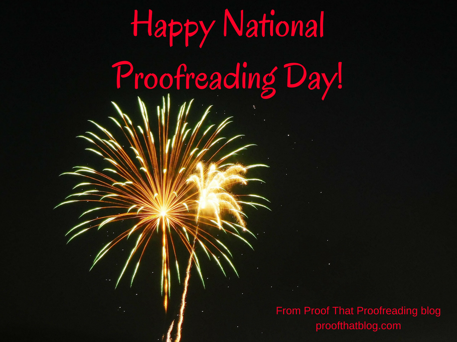 Happy National Proofreading Day!